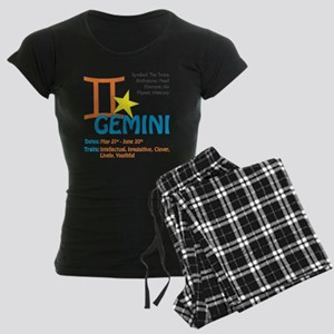 geminnisquare Women's Dark Pajamas